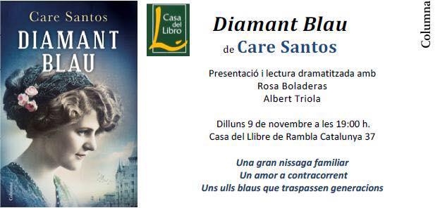 Presentaci n diamante azul barcelona sandra bruna - Casa del libro barcelona rambla catalunya ...