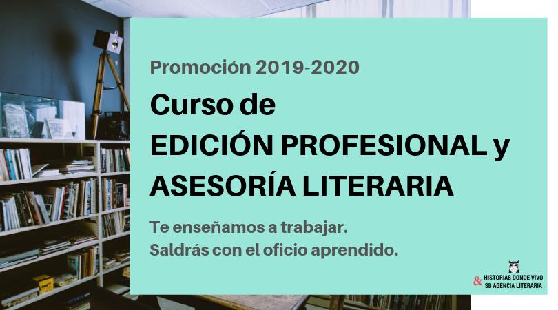 Curso de Edición Profesional y Asesoría literaria